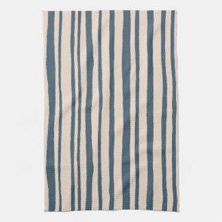 En las maderas deja a rayas la toalla de cocina az