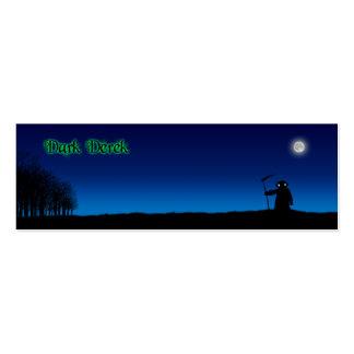 En las maderas - Derek oscuro Tarjetas De Visita Mini
