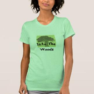 En las maderas camisetas
