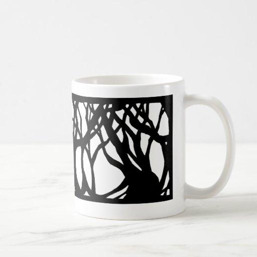 En las maderas taza