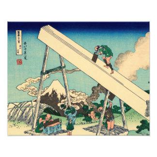 En las montañas de Totomi Impresiones Fotograficas