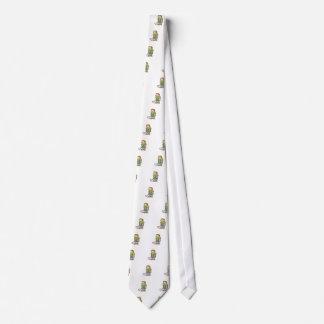 En las muletas corbata personalizada