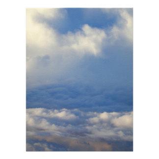 En las nubes comunicados personales