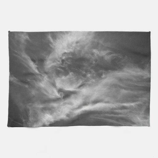 En las nubes toalla de mano