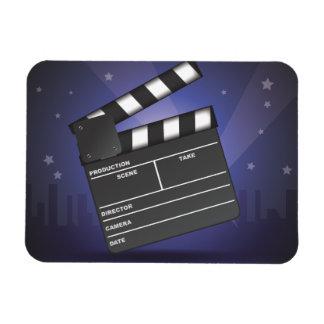En las películas imán de vinilo