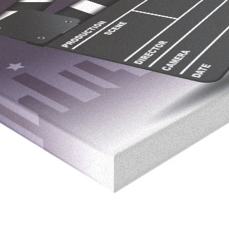En las películas impresión en lona