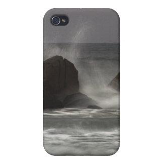 En las rocas - playa blanca del punto, NS iPhone 4 Protectores