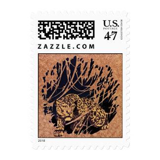En leopardo del vagabundeo el guepardo sella el sellos
