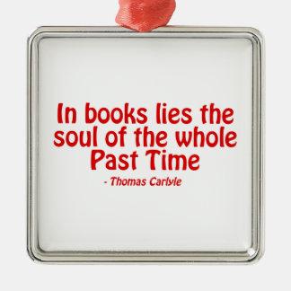 En libros miente el alma del conjunto más allá del