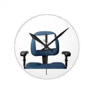 En licencia reloj redondo mediano