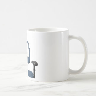 En licencia taza de café