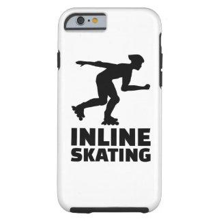 En línea patinando funda de iPhone 6 tough