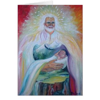En los brazos de mi padre tarjeta pequeña