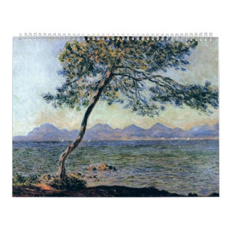 En los d'Antibes del casquillo de Claude Monet Calendarios