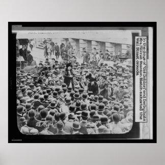 En los días de gorras viejos del caballo de labor  posters