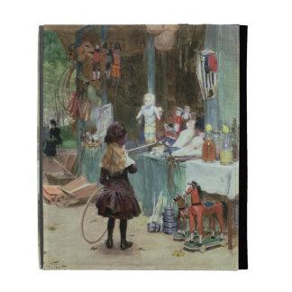 En los jardines de Champs-Elysees, c.1897 (aguazo