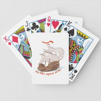En los mares abiertos baraja de cartas