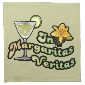 En los Margaritas Veritas Servilletas