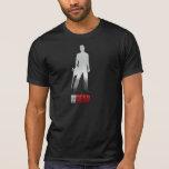 En los muertos - la camiseta de los hombres del hé