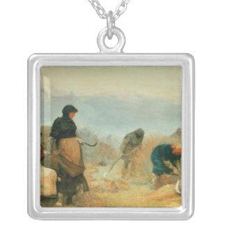 En los pantanos, 1878 colgante
