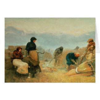 En los pantanos, 1878 tarjeta de felicitación