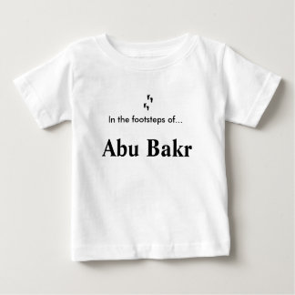 En los pasos de… Abu Bakr Playera De Bebé