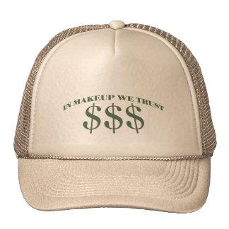 En maquillaje confiamos en gorras de camionero