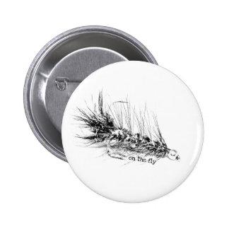 En marcha - cebo del modelo de la mosca del pescad pins