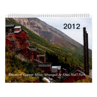 En marzo de 2012 al calendario 2013 de Alaska