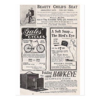En mayo de 1895 los anuncios de Harper Tarjetas Postales