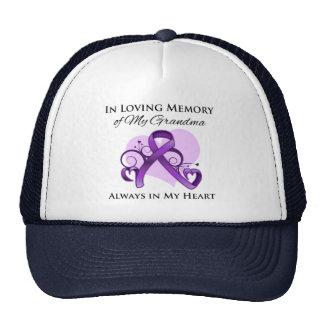 En memoria de mi abuela - cáncer pancreático gorro de camionero