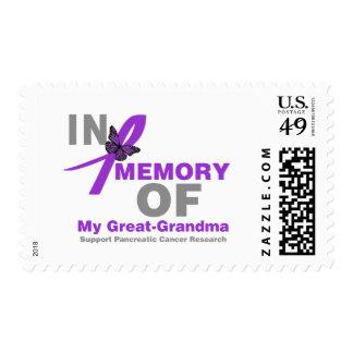 En memoria de mi cáncer pancreático de la gran sello