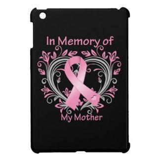En memoria de mi corazón del cáncer de pecho de la iPad mini fundas