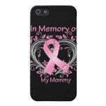 En memoria de mi corazón del cáncer de pecho de la iPhone 5 fundas