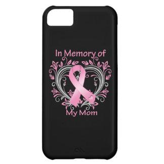 En memoria de mi corazón del cáncer de pecho de la funda para iPhone 5C
