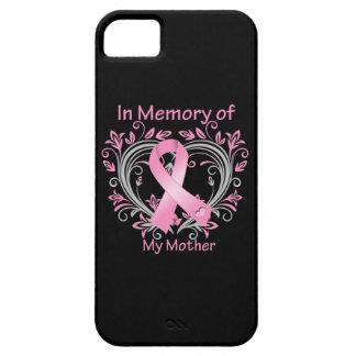 En memoria de mi corazón del cáncer de pecho de la iPhone 5 funda