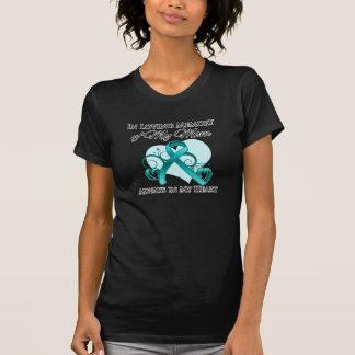 En memoria de mi mamá - cáncer ovárico camiseta