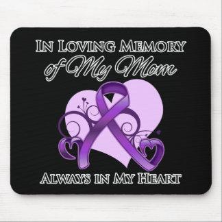 En memoria de mi mamá - cáncer pancreático alfombrilla de ratones