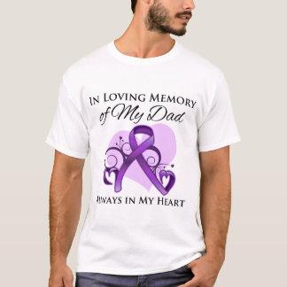 En memoria de mi papá - cáncer pancreático playera