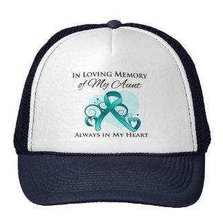 En memoria de mi tía - cáncer ovárico gorro de camionero