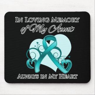 En memoria de mi tía - cáncer ovárico tapetes de raton