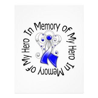 En memoria de mis alas del ángel del ALS del héroe Tarjeta Publicitaria