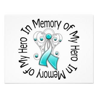 En memoria de mis alas del ángel del cáncer de cue comunicados personalizados