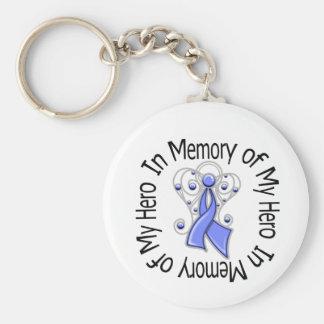En memoria de mis alas del ángel del cáncer de est llaveros personalizados