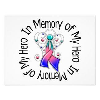 En memoria de mis alas del ángel del cáncer de tir comunicados