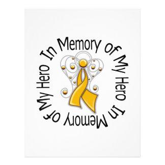 En memoria de mis alas del ángel del cáncer del ap tarjetas informativas