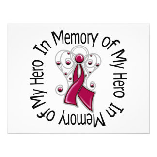 En memoria de mis alas del ángel del mieloma múlti anuncio personalizado