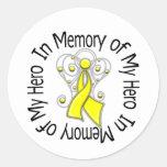 En memoria de mis alas del ángel del sarcoma del h etiqueta