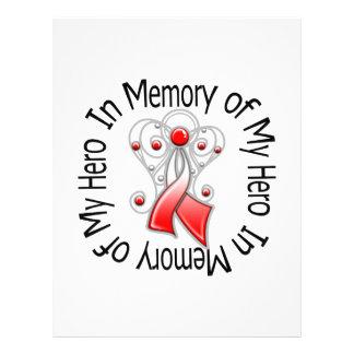 En memoria de mis alas orales del ángel del cáncer tarjetas publicitarias