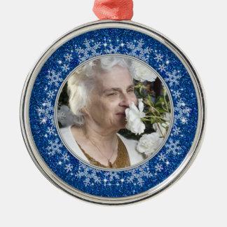 En memoria del ornamento - copos de nieve ornaments para arbol de navidad